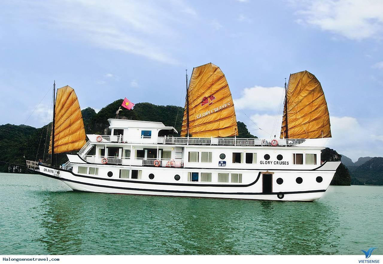 Tour Du Lich Ha Long, Du Thuyền Ha Long Glory  2 Ngay 1 Đêm