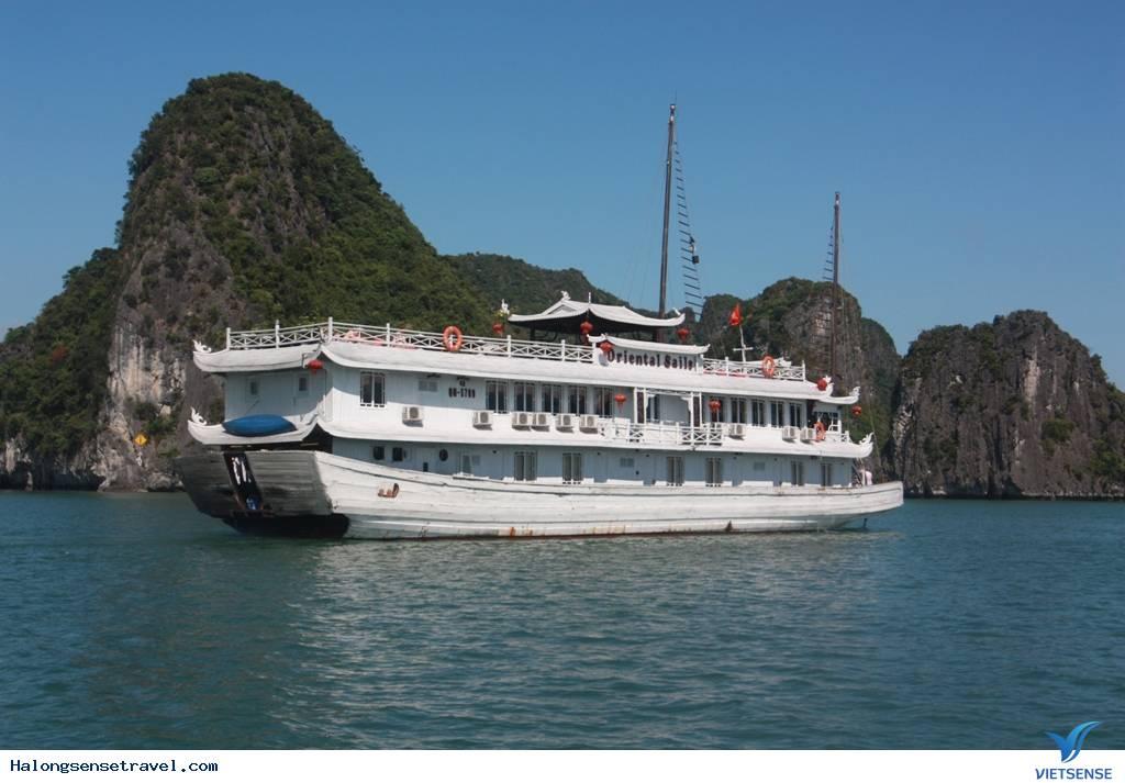 Du Thuyền Oriental Sail 2 Ngày 1 Đêm