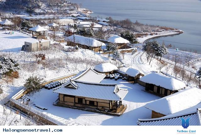 Hình Ảnh Băng Tuyết Bao Phủ Các Quốc Gia Châu Á
