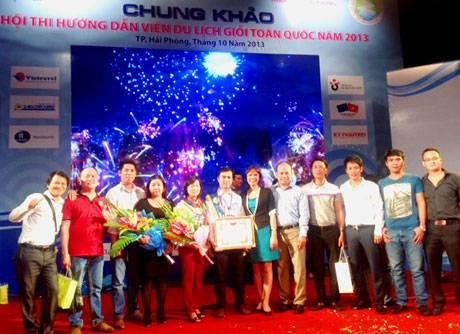 Quảng Ninh Giành Giải 3 Tại Cuộc Thi Hướng Dẫn Viên Giỏi Toàn Quốc 2013