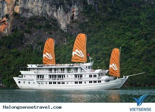Tour Du Thuyền Hạ Long Paradise 3 Ngày 2 Đêm
