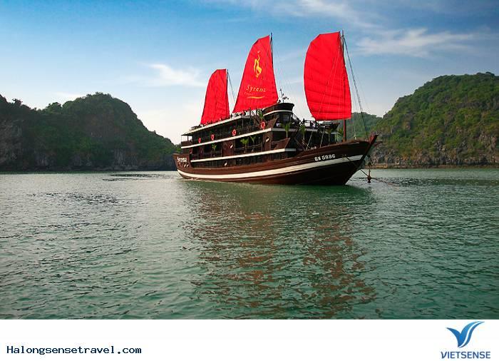 Tour Du Thuyền Hạ Long Syrena Cruise 4* Siêu Khuyến Mãi